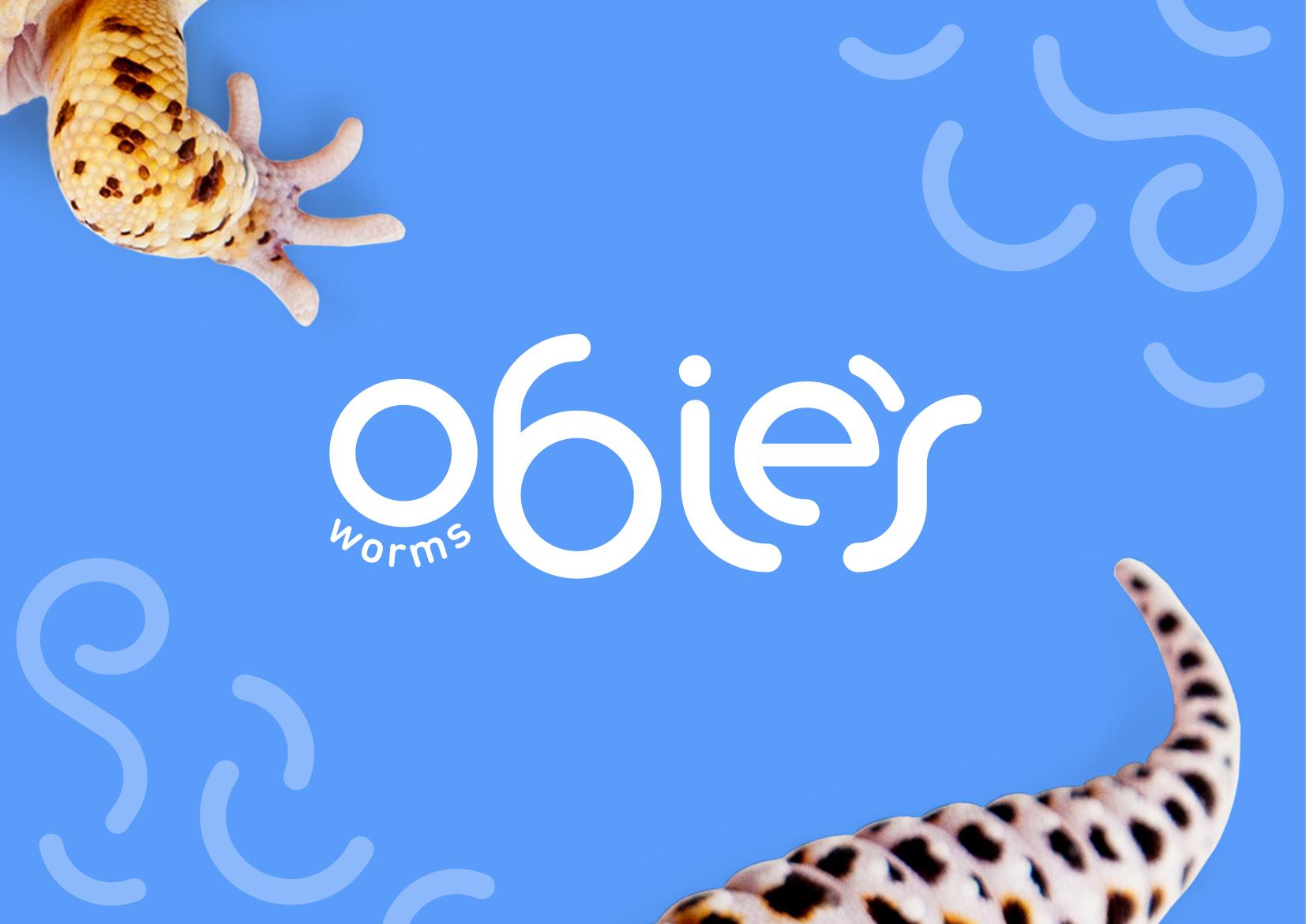 Obie's Worms Logo