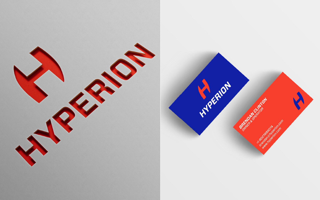 Hyperion Logo and Business Card