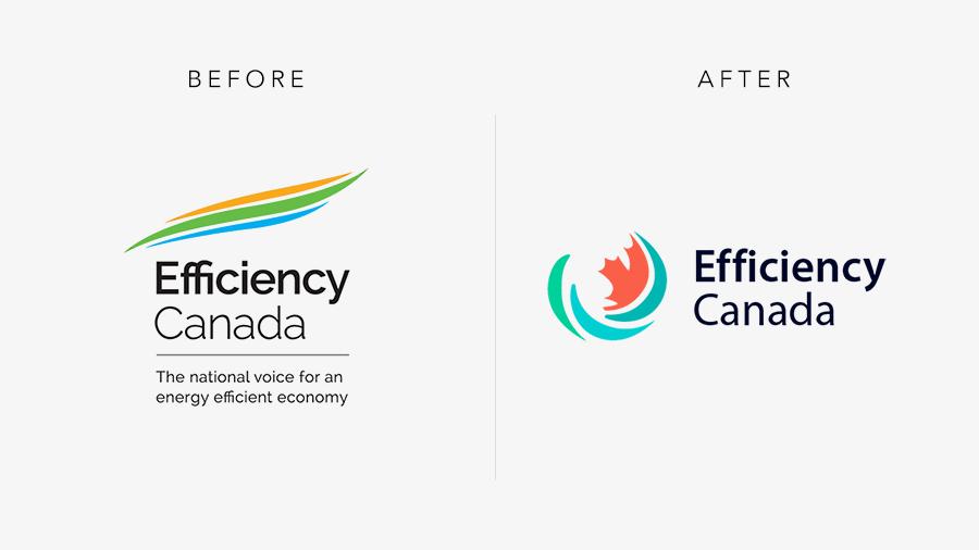 Efficiency Canada Logo Comparison