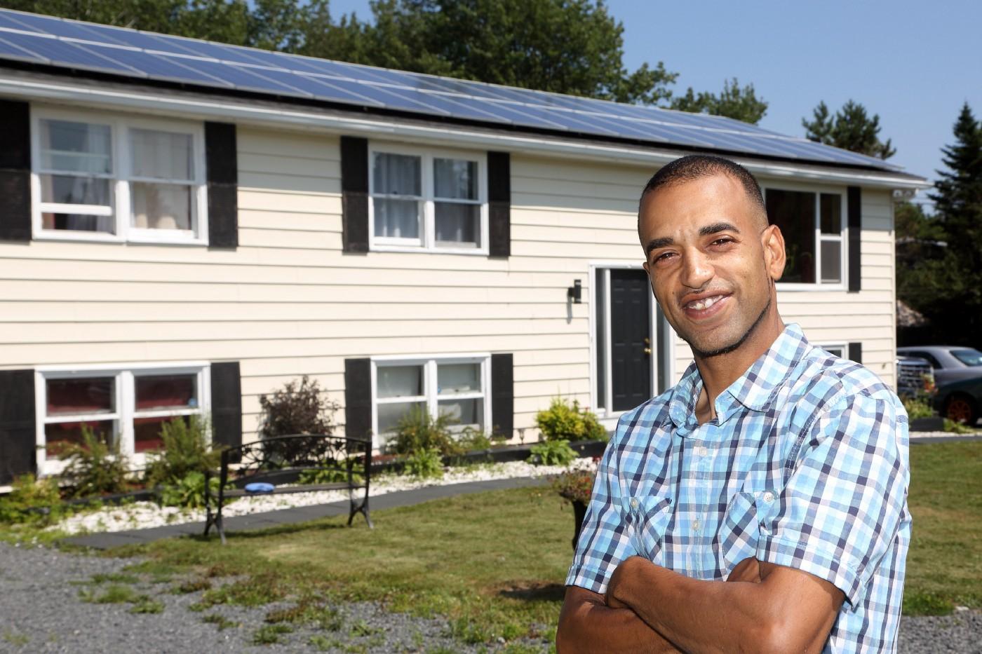 Dennis Wright Solar Panels in Nova Scotia