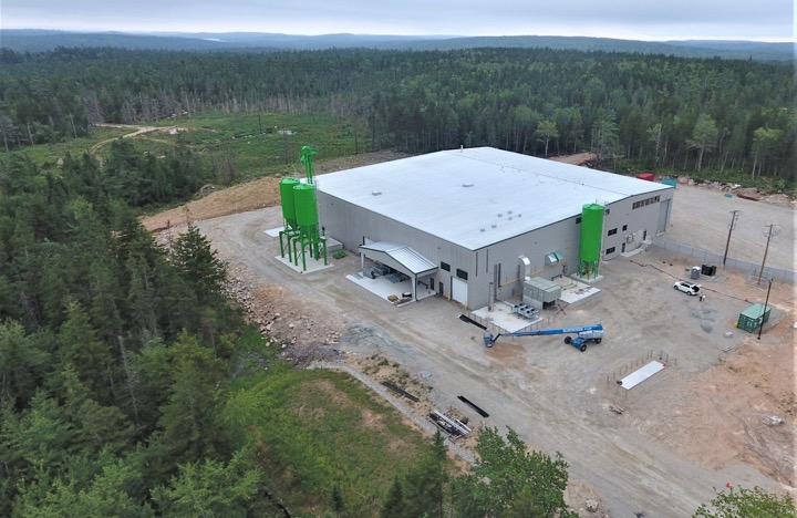 Sustane's facility in Chester, NS (Photo: Sustane Technologies)