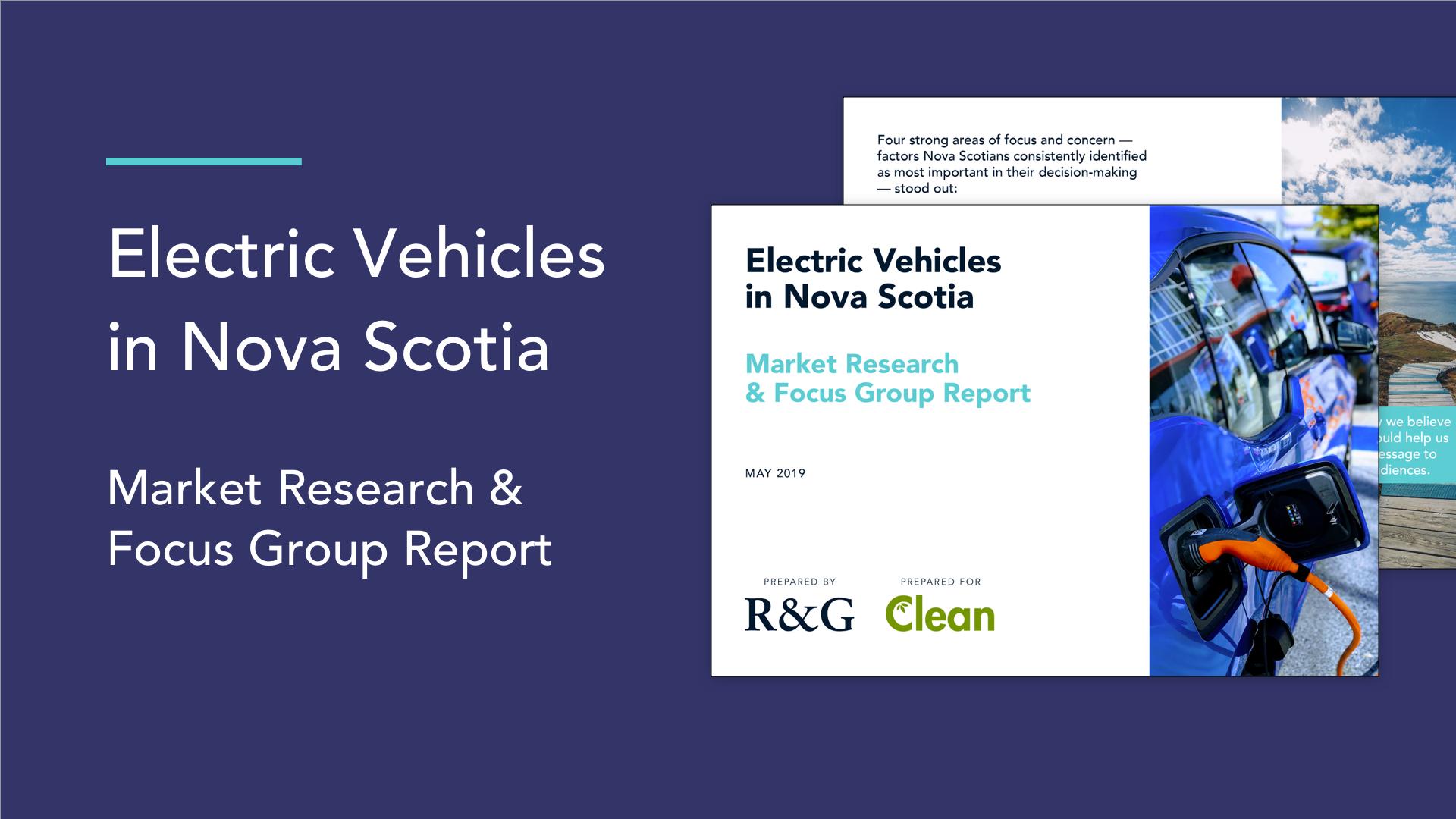 EVs in Nova Scotia - Market Research & Focus Group Report