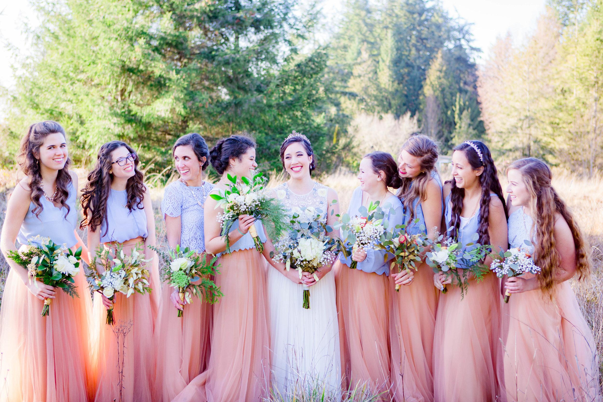Bridal Party, Bridesmaids Photo