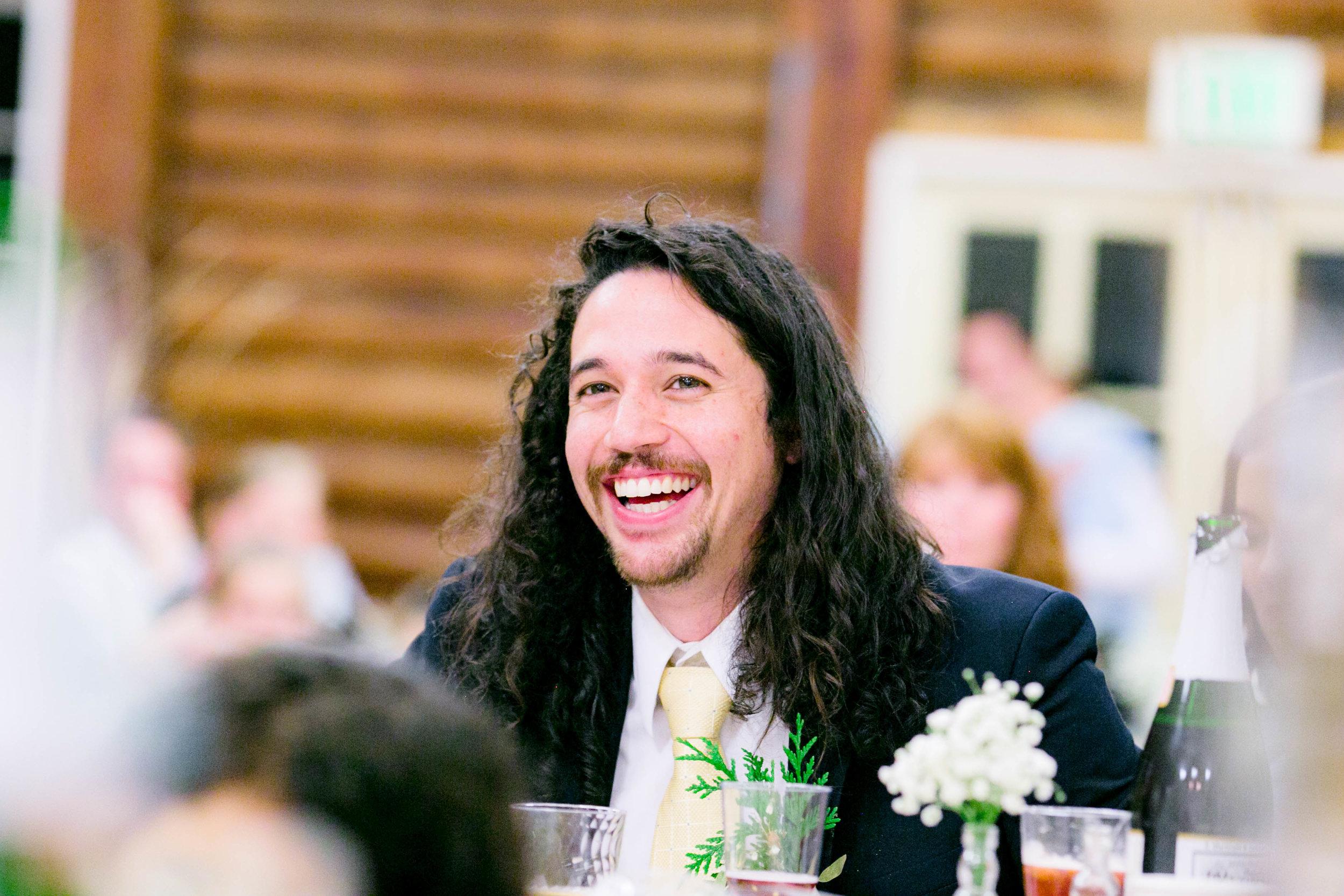 Wedding guests, reception, wedding toasts