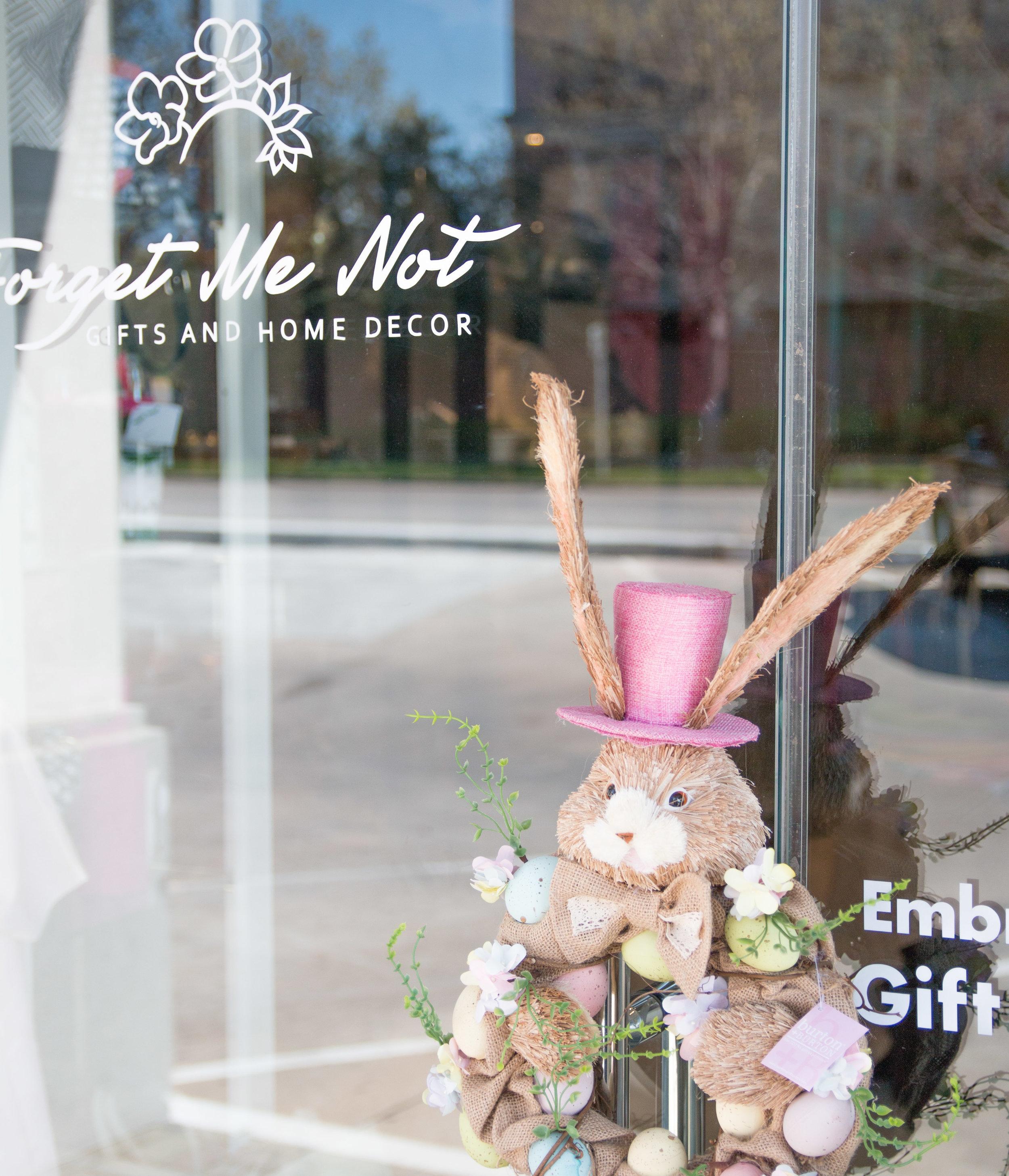 This adorable Easter Wreath by Burton & Burton.