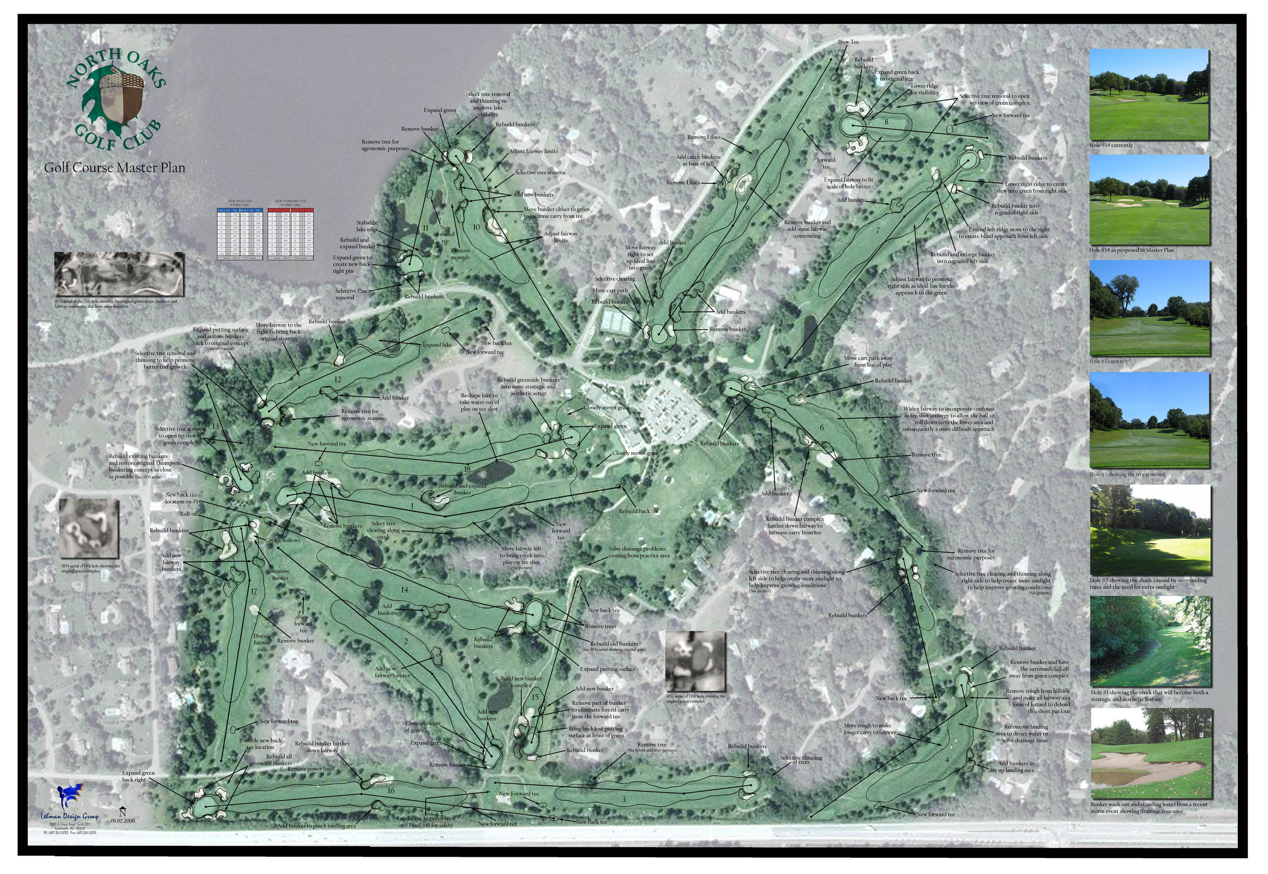 MasterplansNorth Oaks - We try to always give enough detailed information to help best explain the scope of work.
