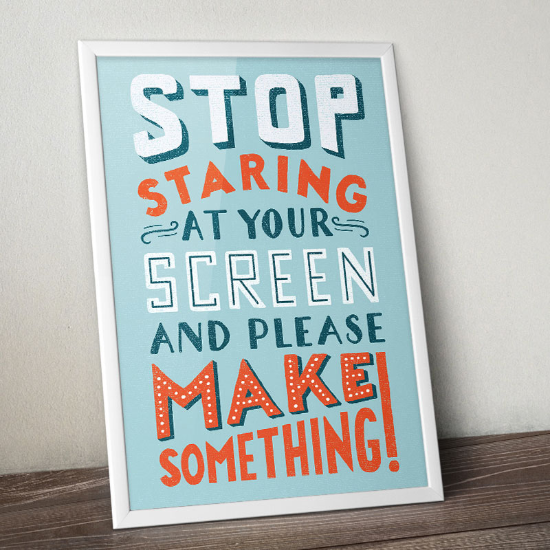 Stop Staring Poster