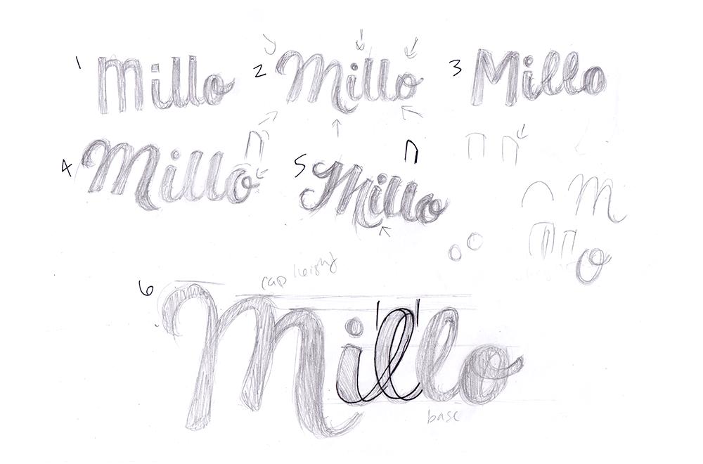 Millo Process- Thumbnails
