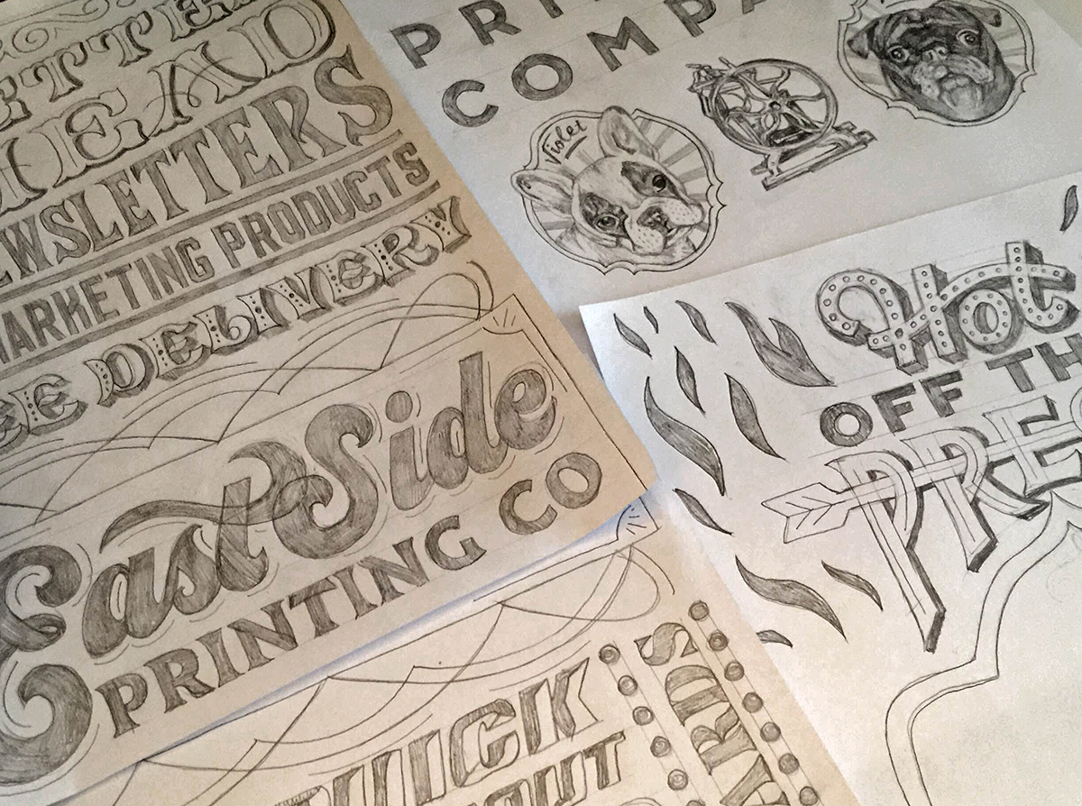 hire me - FOR YOUR HAND LETTERED MURAL