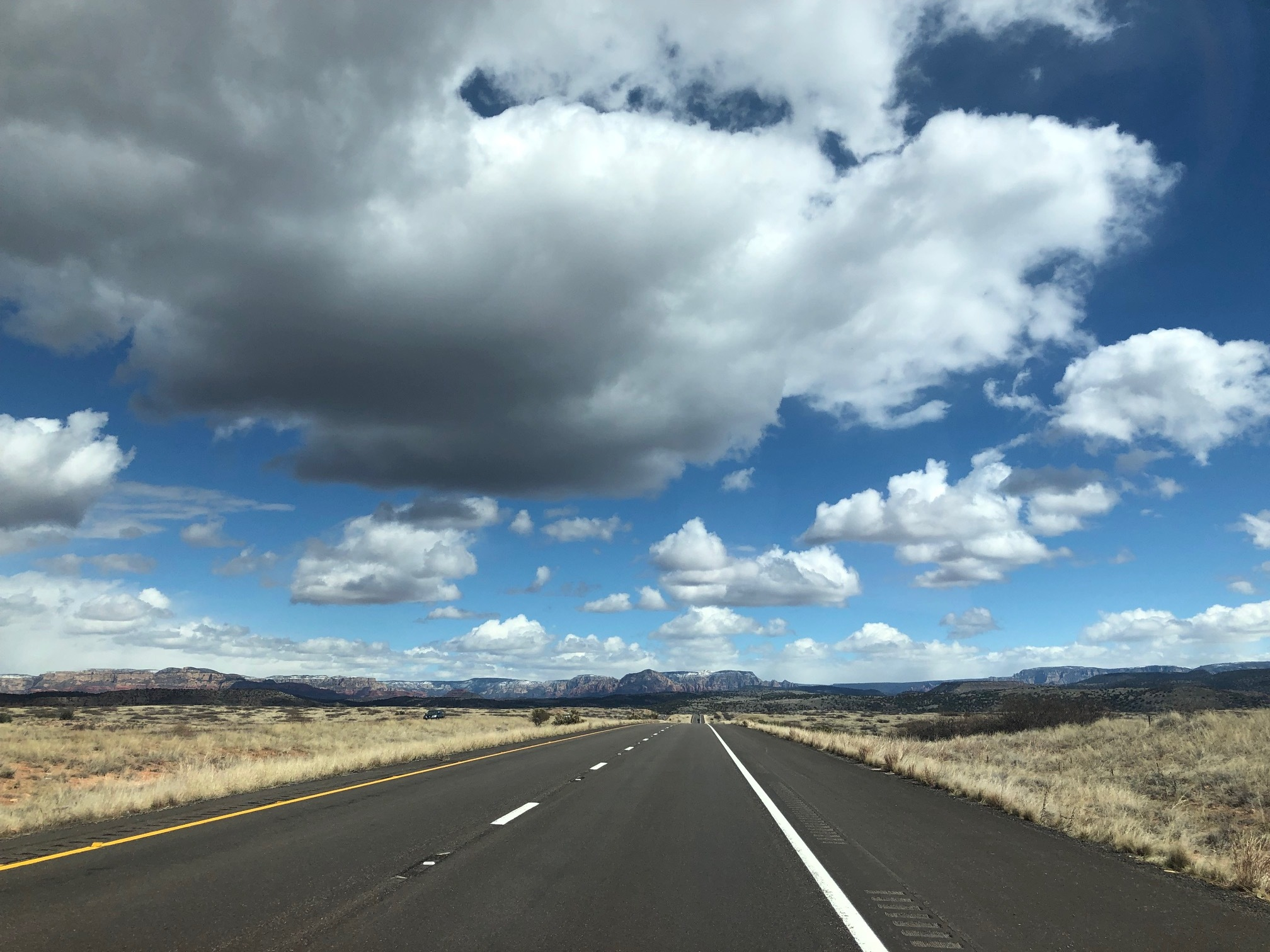 The road to Red Rock