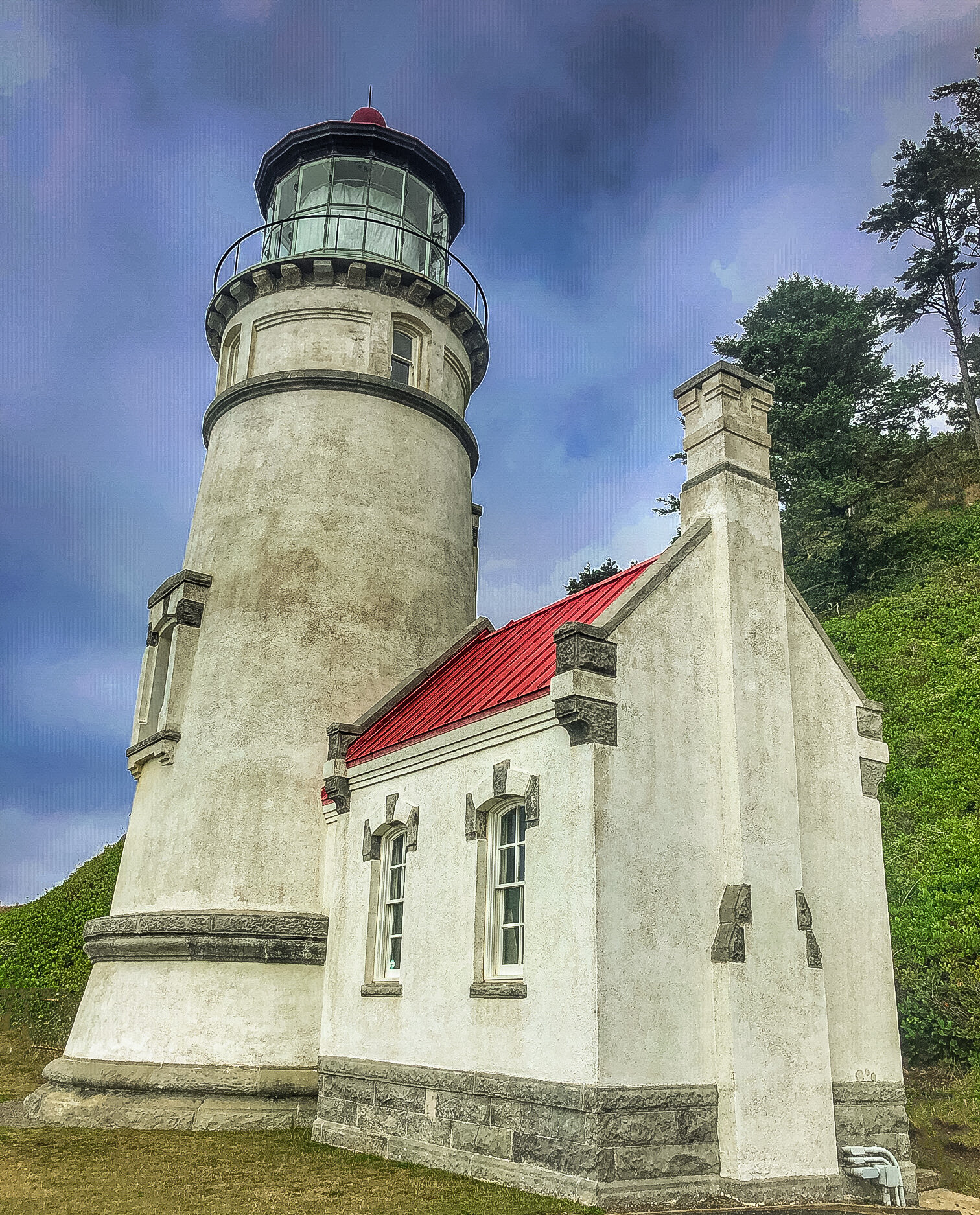 Heceta Lighthouse / 15 miles north of Florence