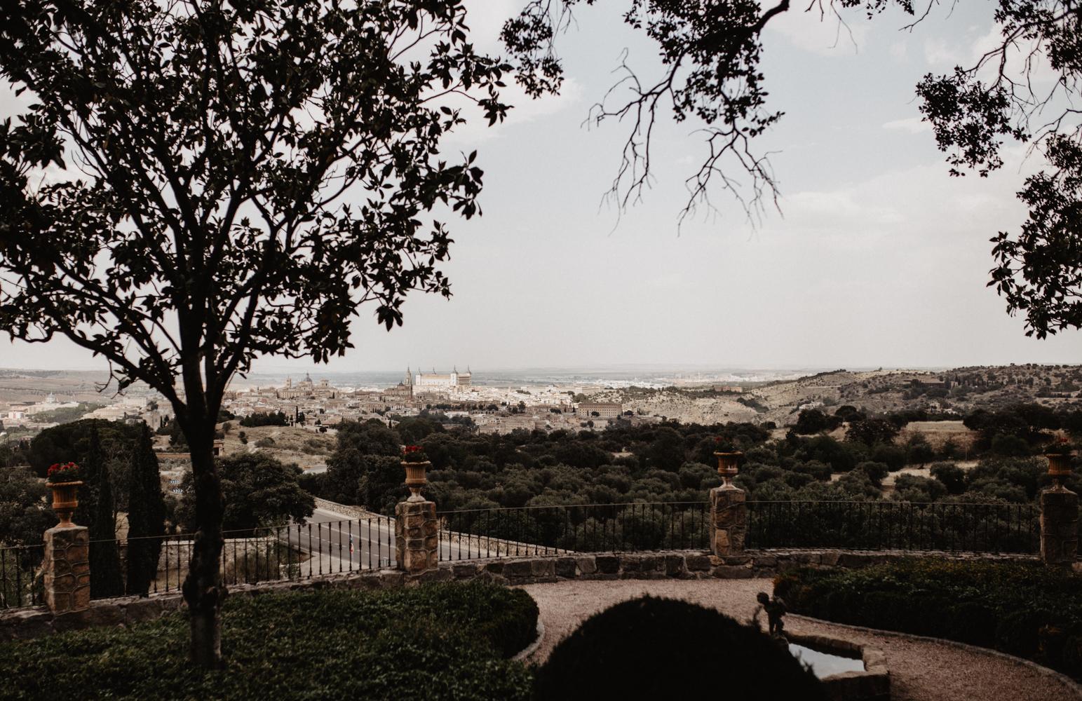 vistas de Toledo desde Cigarral de las Mercedes