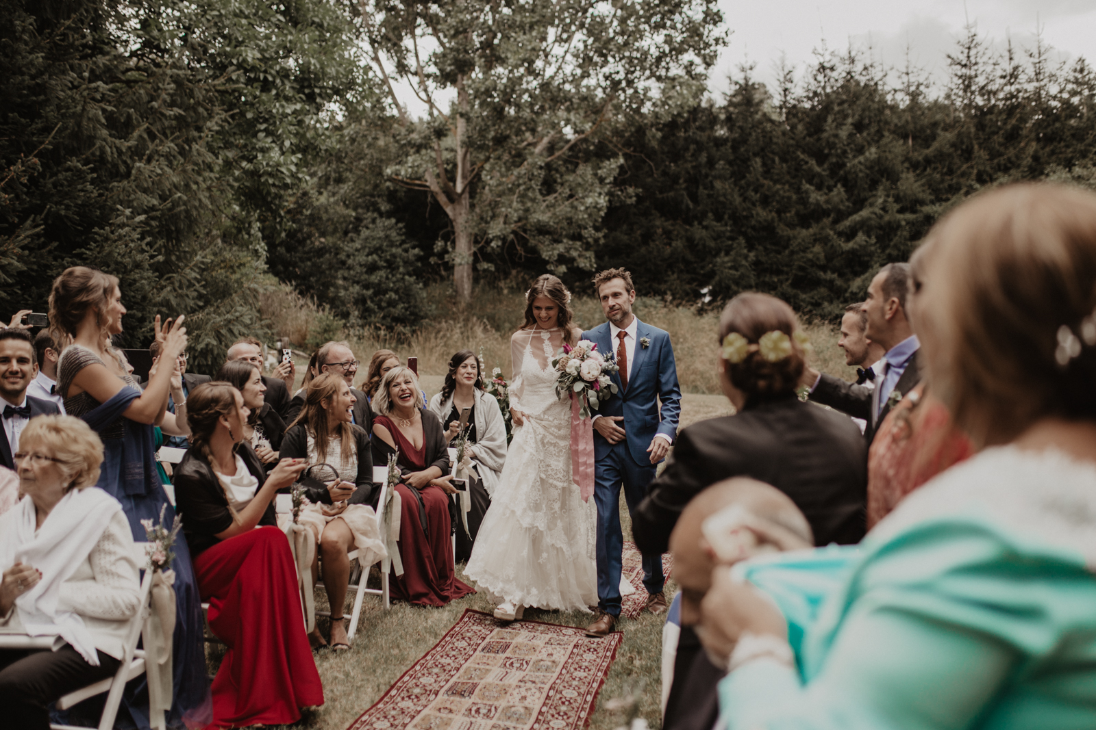 entrada novia, fénix visual, boda boho, boda bohemia, boda en barcelona, boda civil, fénix visual