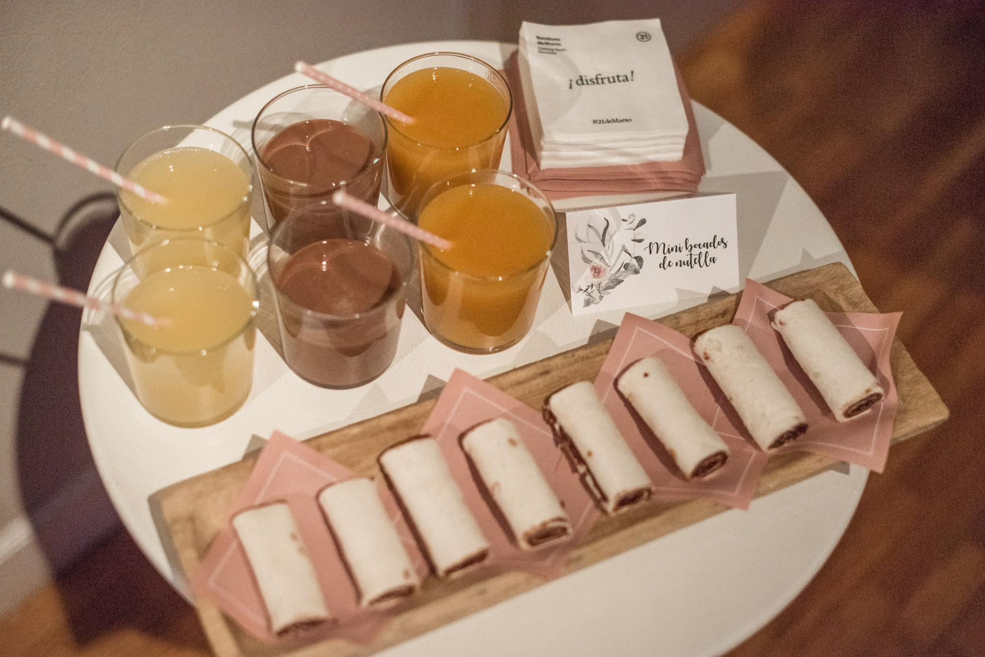 bodegón con comida, miss cavallier, welcome constanza, fénix visual, eventos barcelona