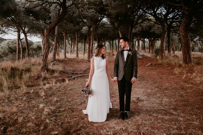fénix visual, boda en el bosque, boda en la costa brava, videografo de bodas,