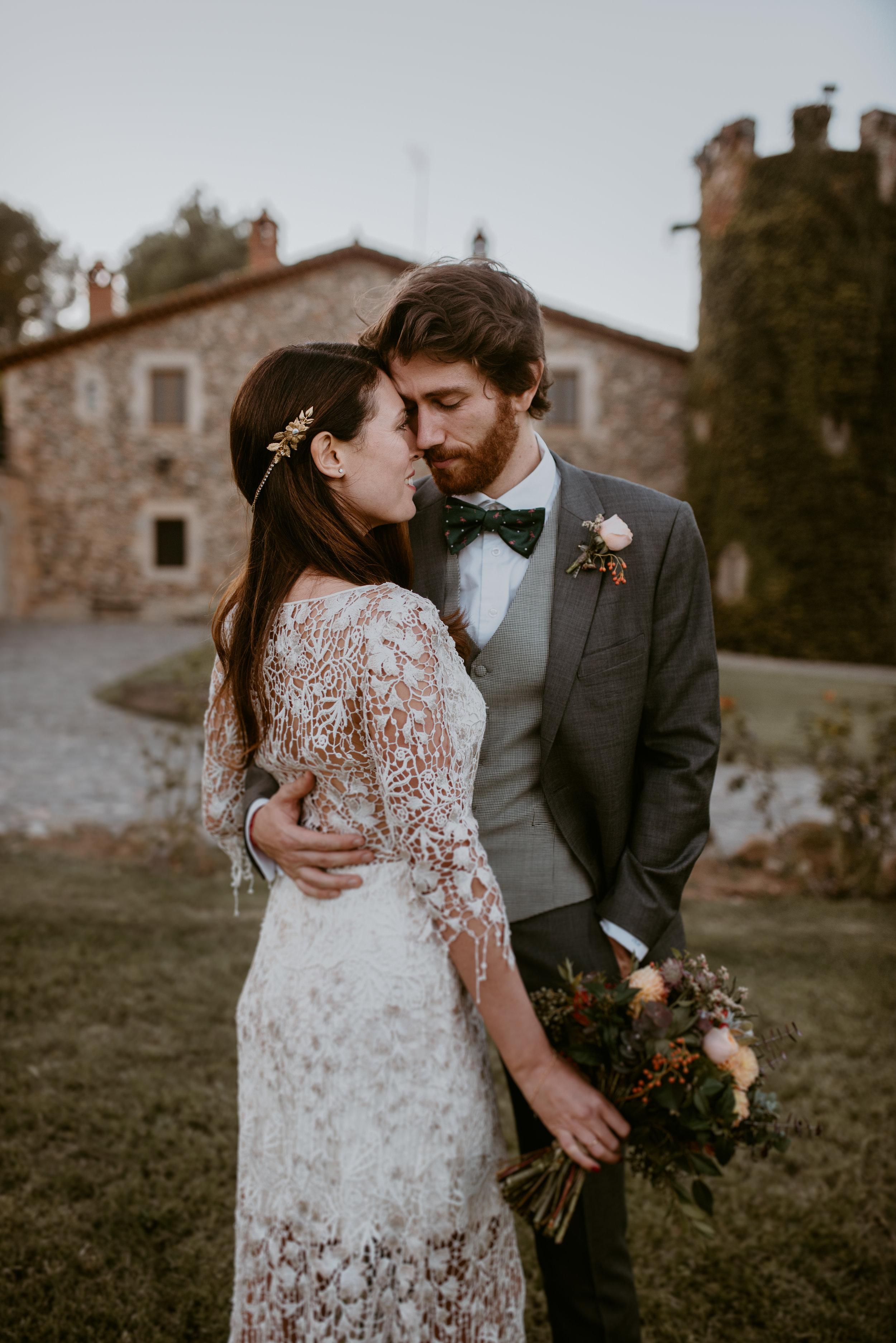 pareja de recién casados en Tarragona, Fénix visual, videógrafo de bodas,