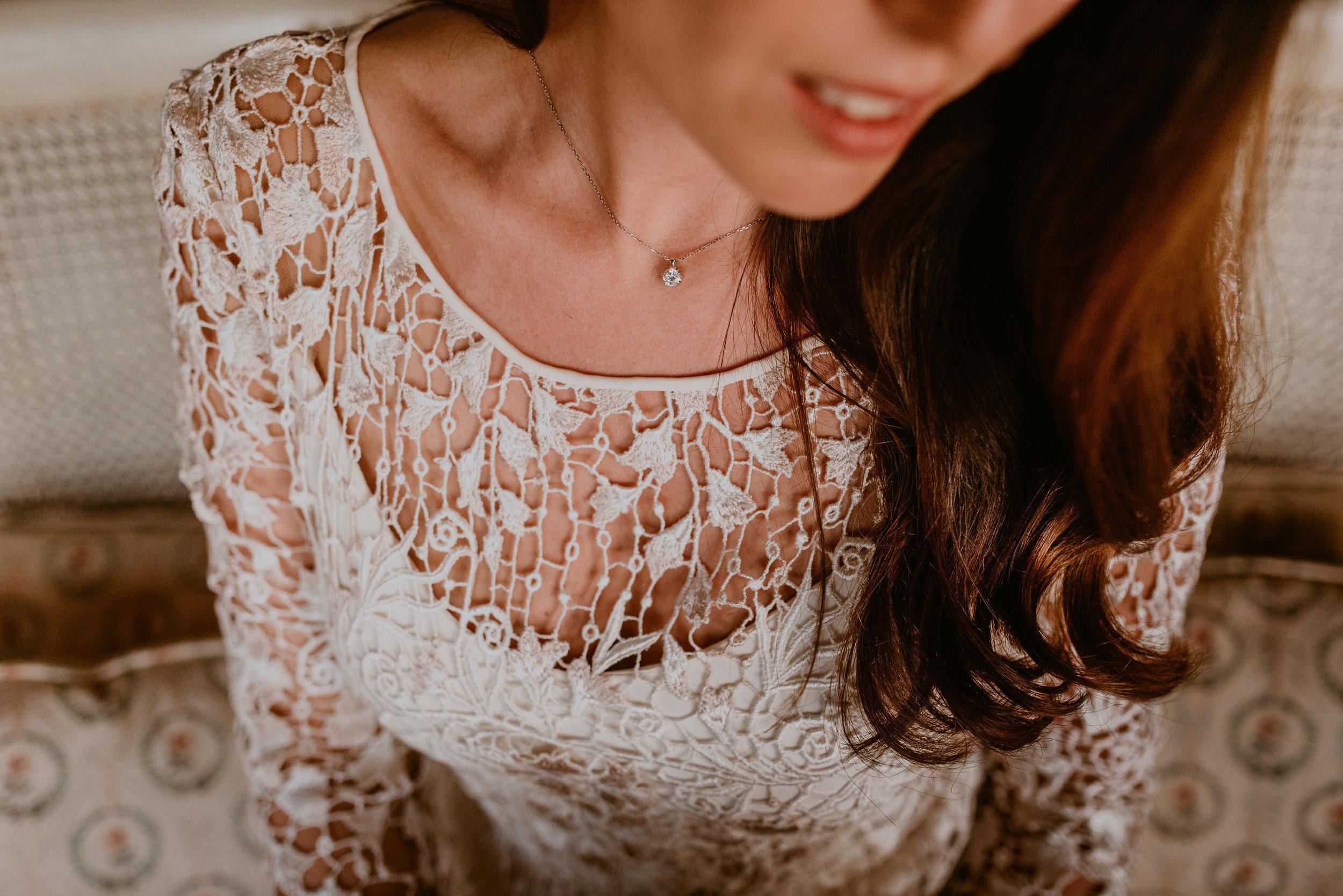 novias boho, detalles vestido larcabarcelona, fénix visual,