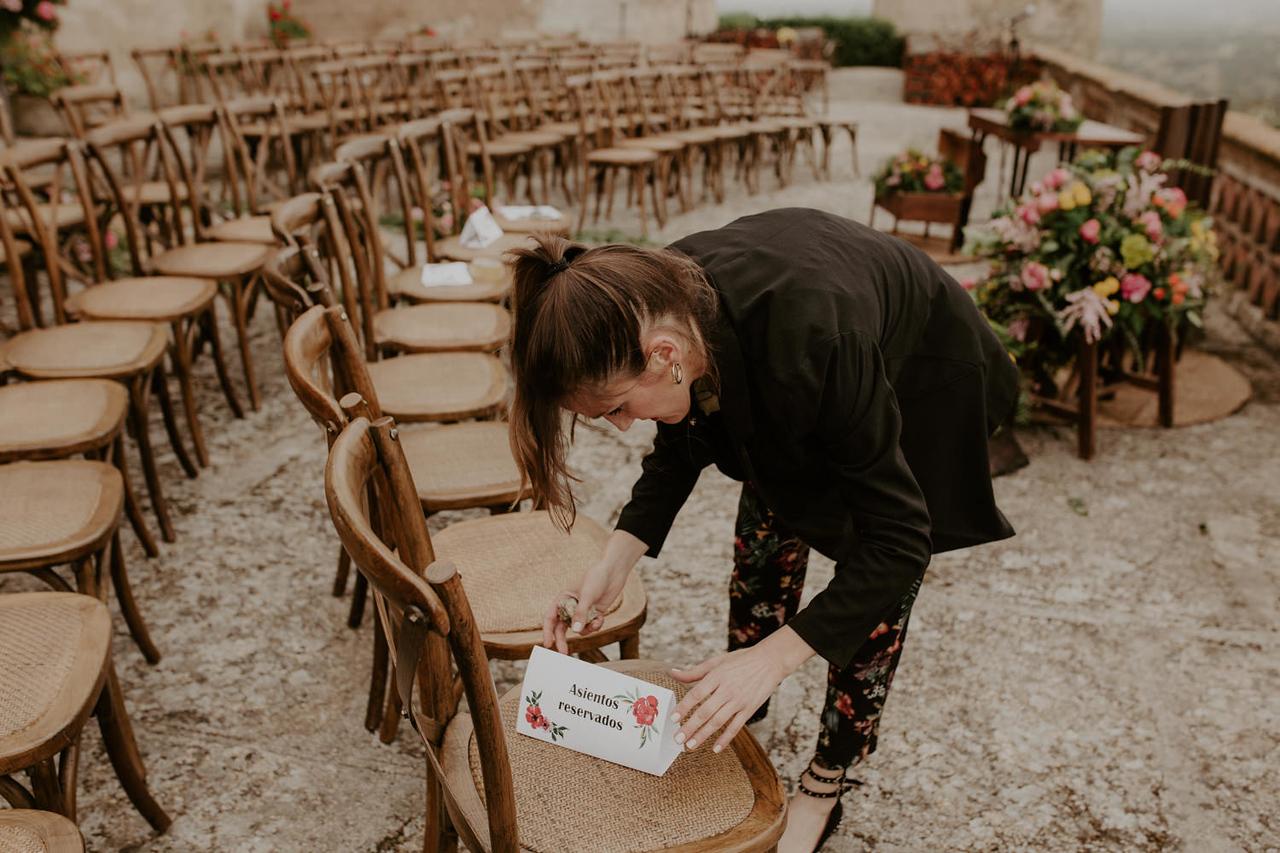 las catalinas, boda en el castillo, castillo de piedrabuena, decoración,