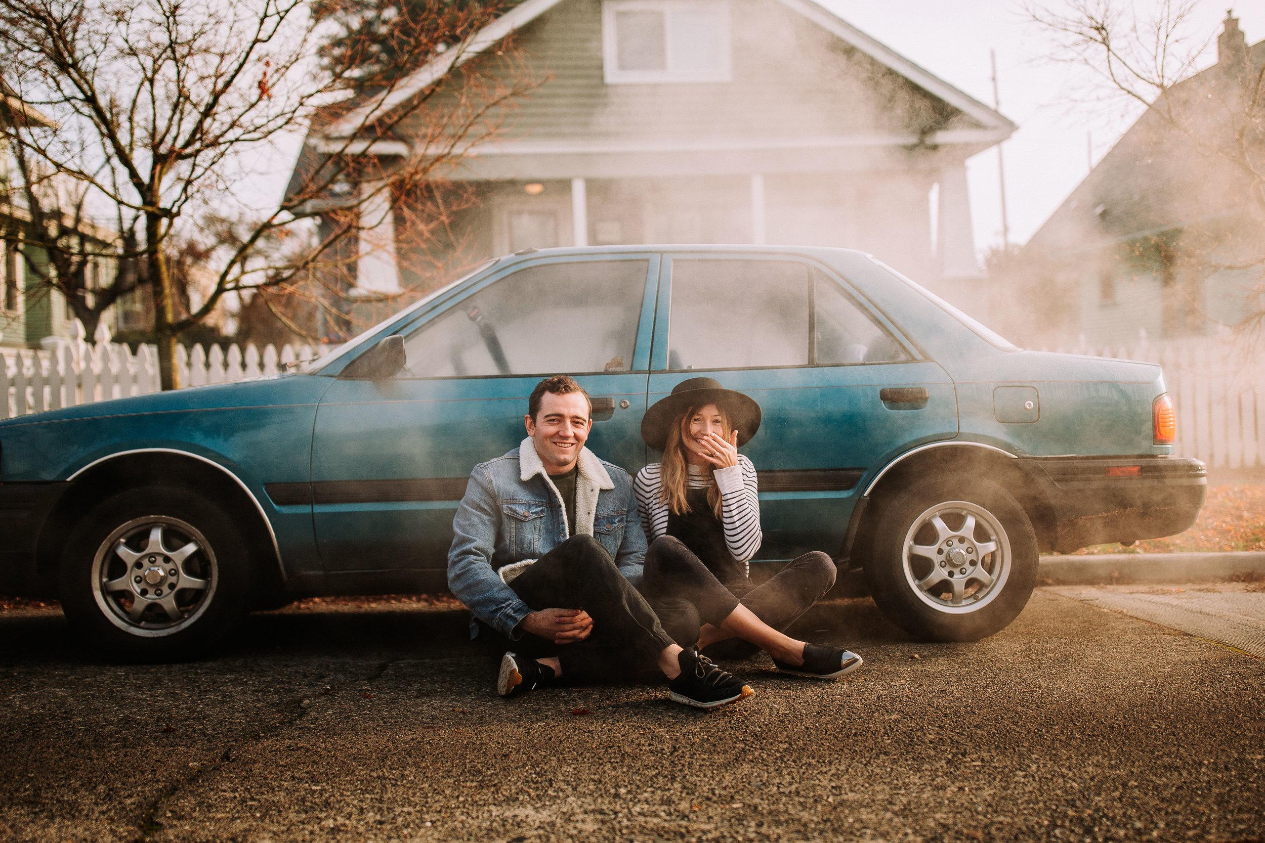junalu rojano, tips sesión fotos, pareja en coche, fénix visual, videos de boda,