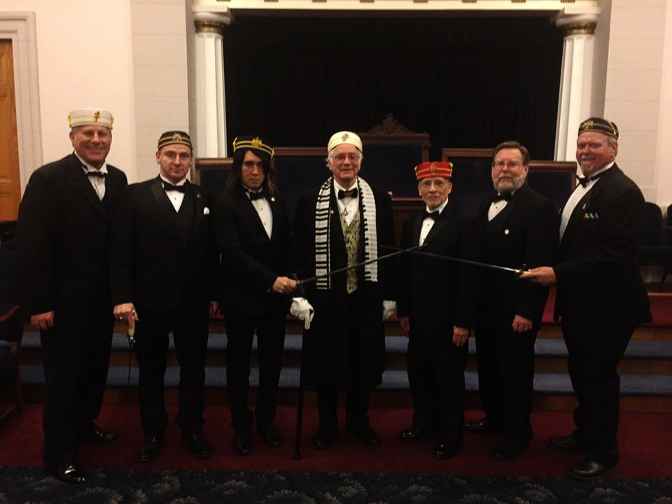 CAST MEMBERS OF THE LOS ANGELES SCOTTISH RITE 2017 14TH DEGREE, PERFECT ELU