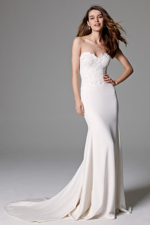 8034B by Watters   Size 10/Ivory  $1,407 now $703.50