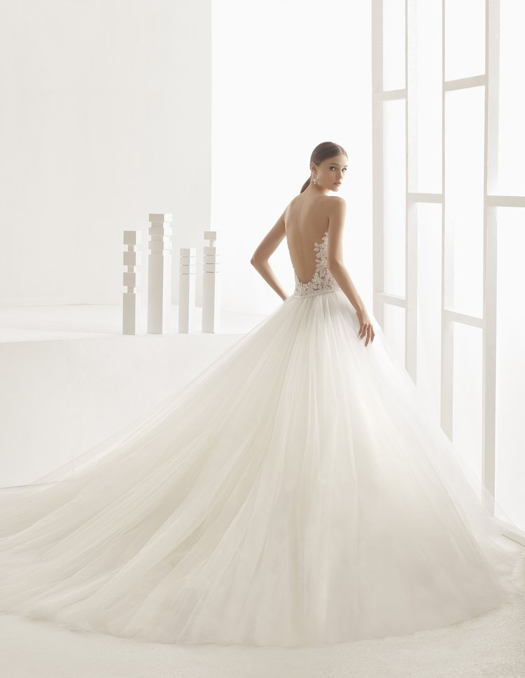 Nieves by Rosa Clara  Size 10/Natural  $4,425 now $3,540
