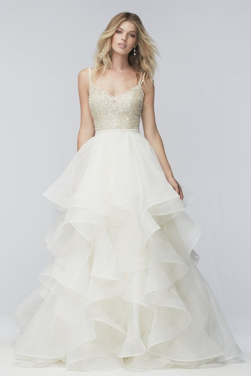 16005 Wtoo by Watters  Size 8/Prosecco  $1,866 now $933