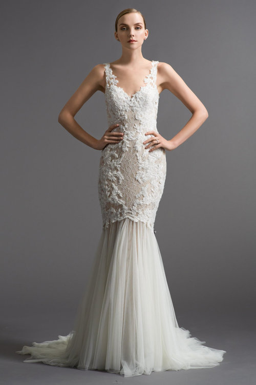 6030B by Watters  Size 10/Ivory/Lt. Nude/Amaretto  $3,344 now $1,003.20
