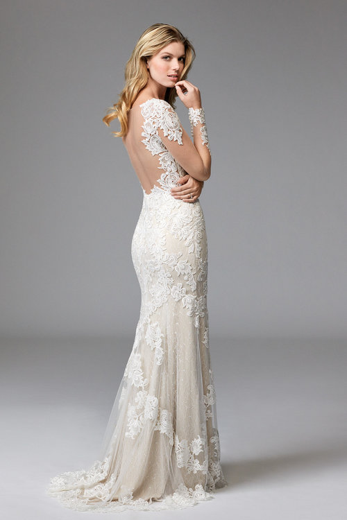 17764 Wtoo by Watters  Size 12 Ivory/Nude  $1,611 now $966.60
