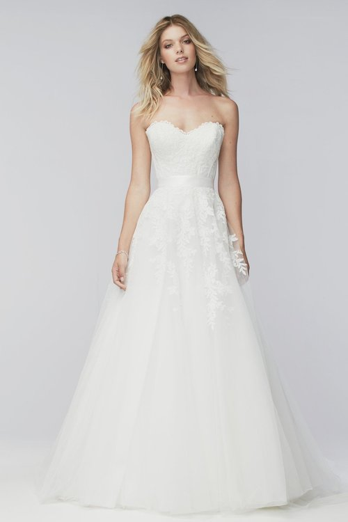 16731 Wtoo by Watters (Skirt Only)  Size 10/Ivory  $876 now $438