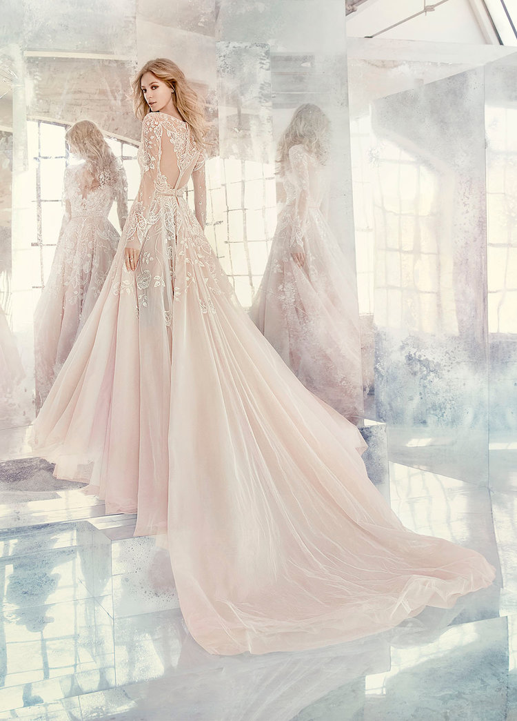 Hayley by Hayley Paige   Size 10/Ivory  $5,060 now $2,530