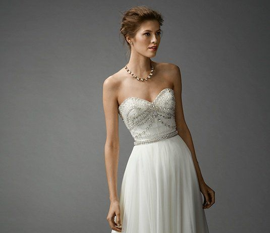 7063B by Watters  Size 8/Off White  $1,798 now $899