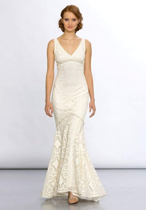 Madeline by Claire Pettibone  Size 10/Ecru/Pearl  $3,800 now $1,900
