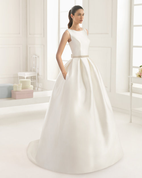 Riba by Rosa Clara Two  Size 10/Natural  $2,225 now $1,780