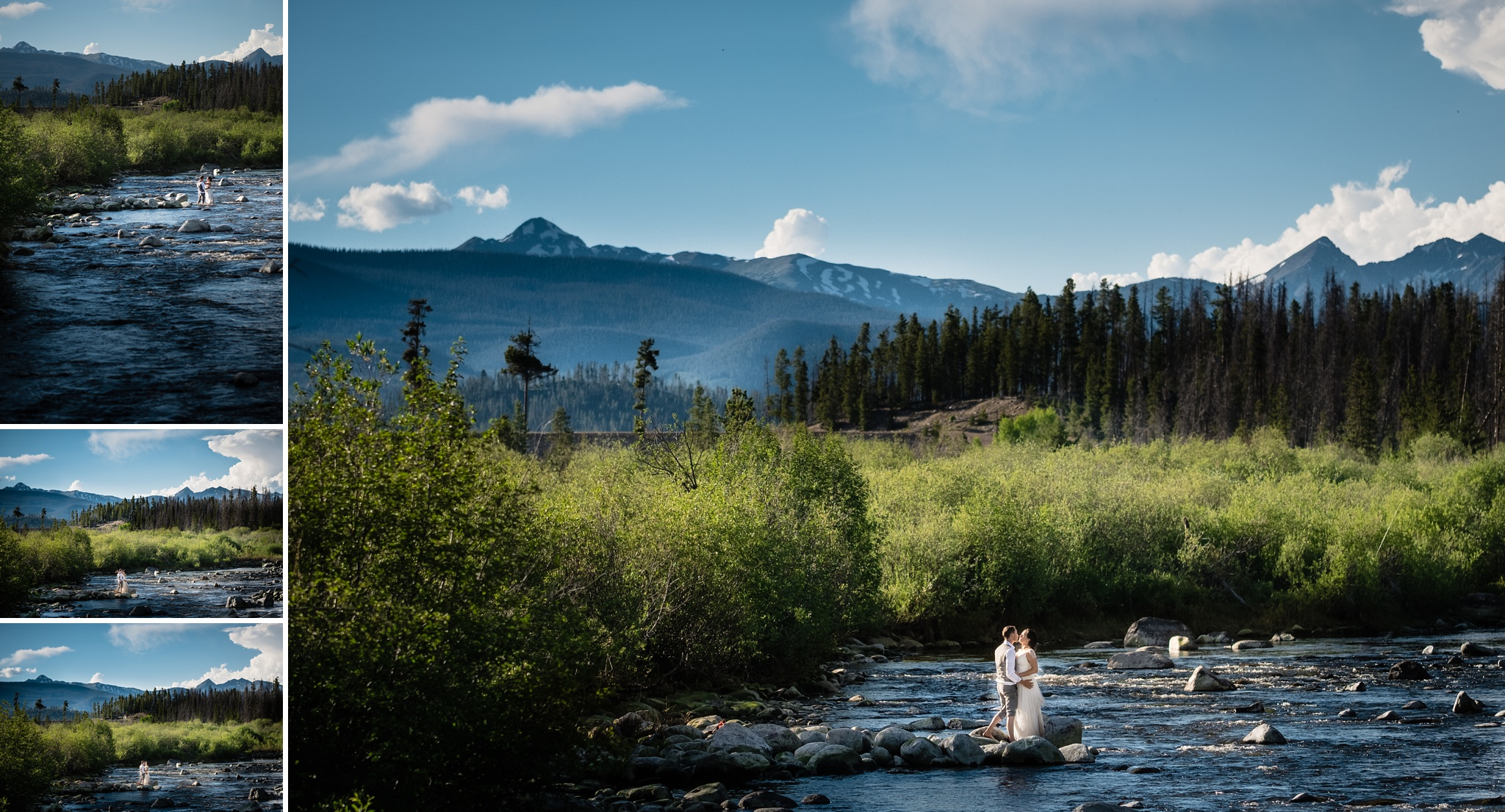 Intimate Grand Lake Wedding Photos by Kate Merrill Photography