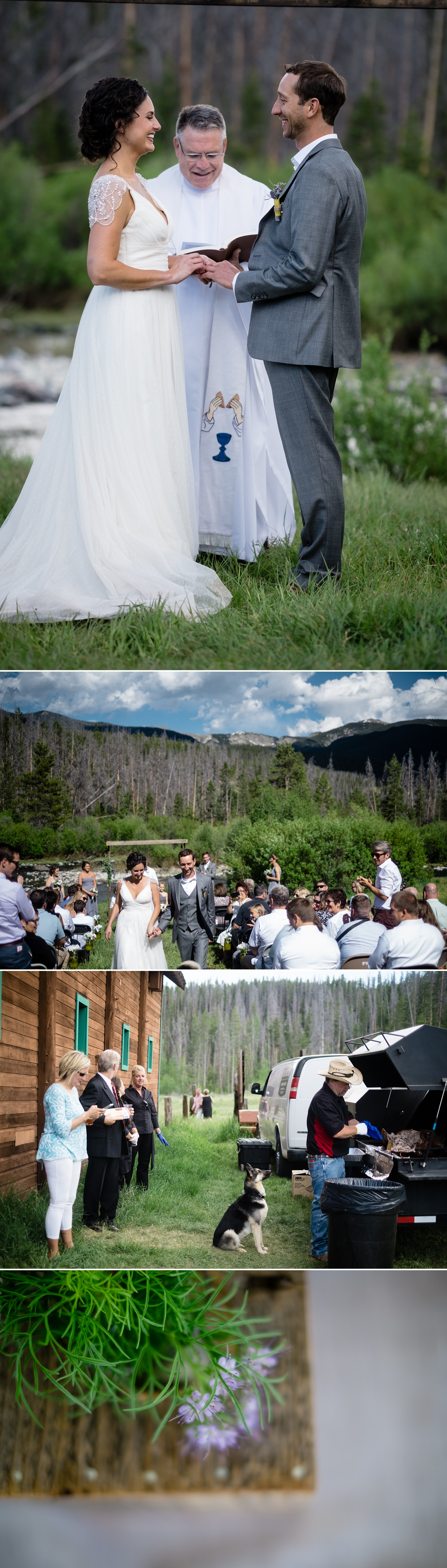 Intimate Grand Lake Wedding by Kate Merrill