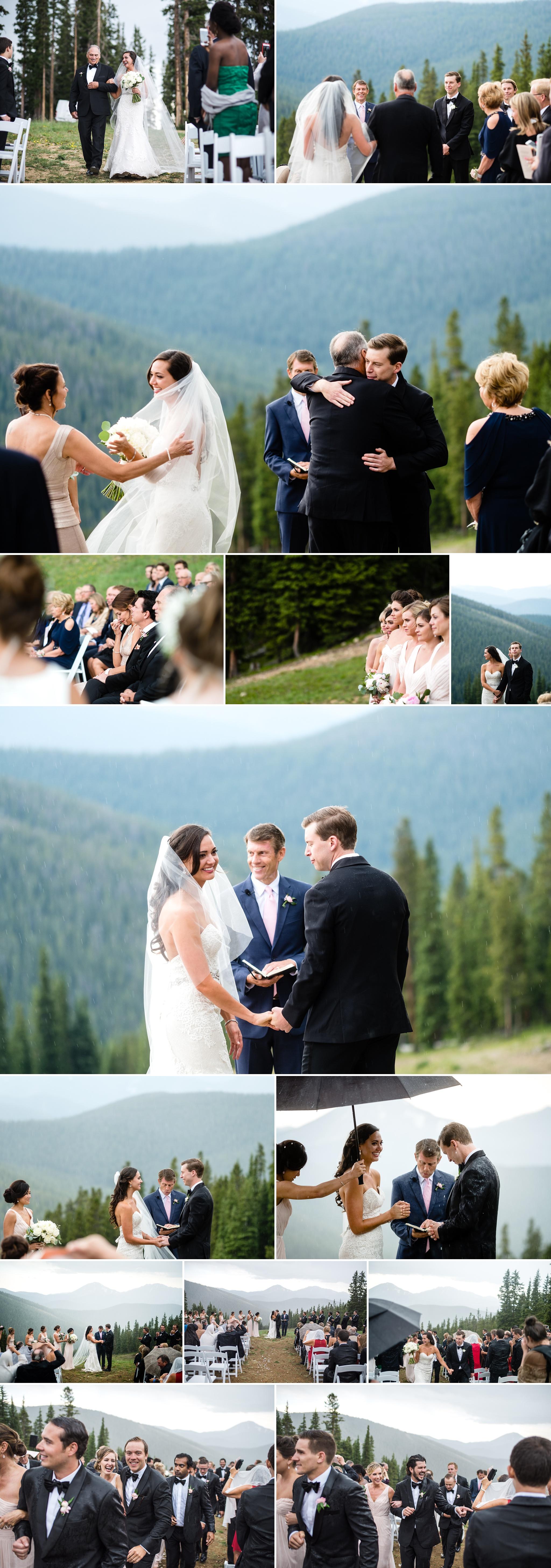 Timber Ridge Lodge Wedding Ceremony by Kate Merrill