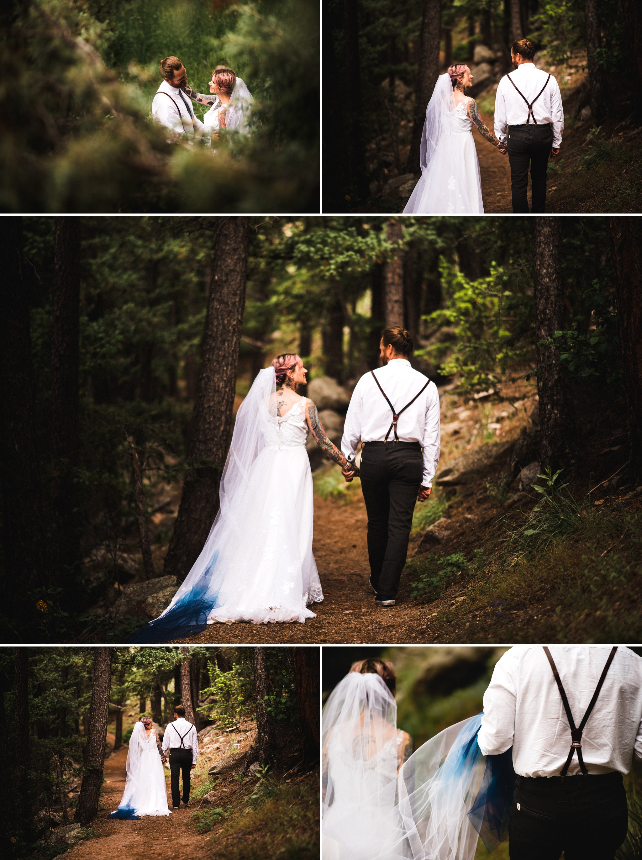 Alternative Boulder Wedding Photographer