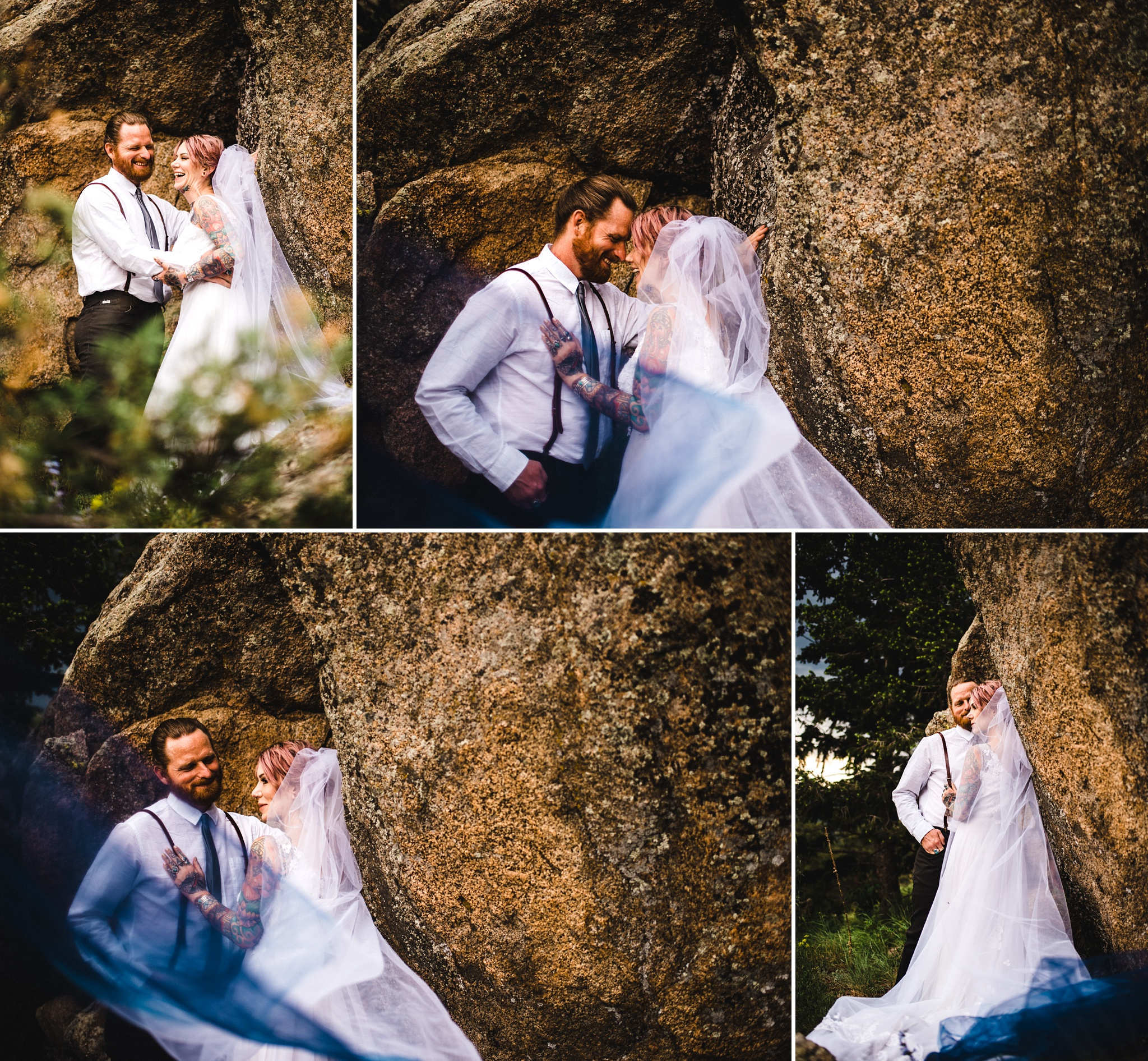 Alternative Boulder Wedding at Gross Reservoir
