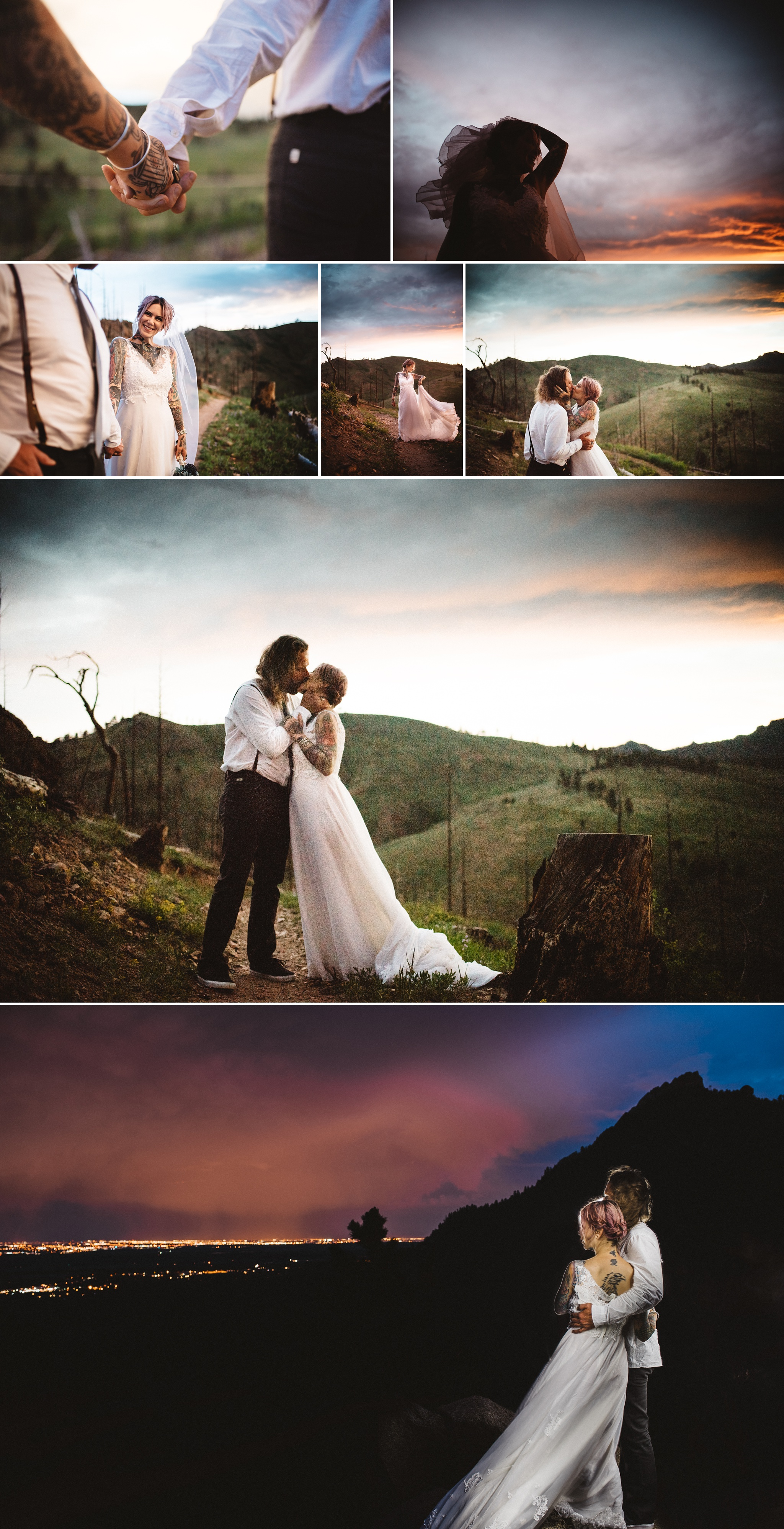 Alternative Boulder Wedding Photographer, Kate Merrill