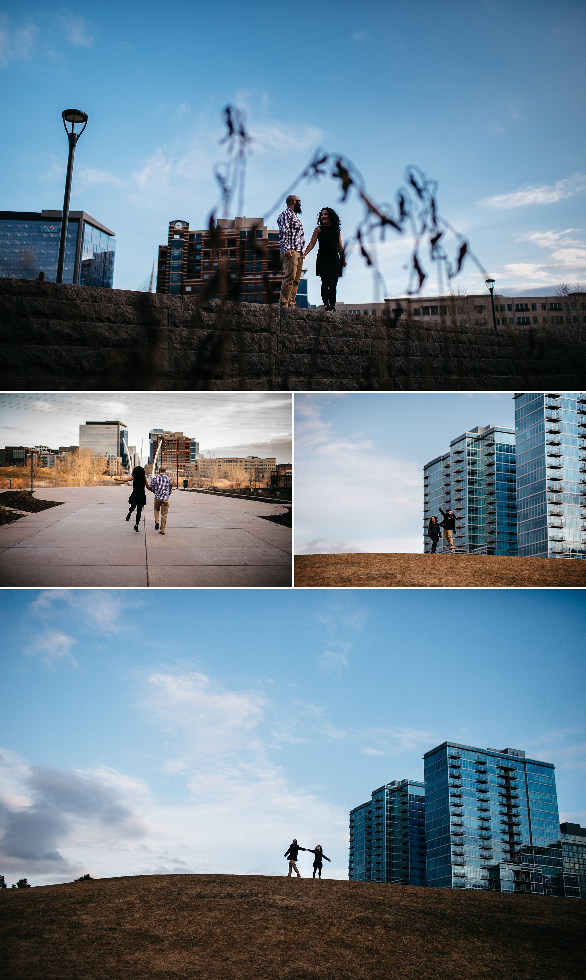 urban Denver engagement photographer