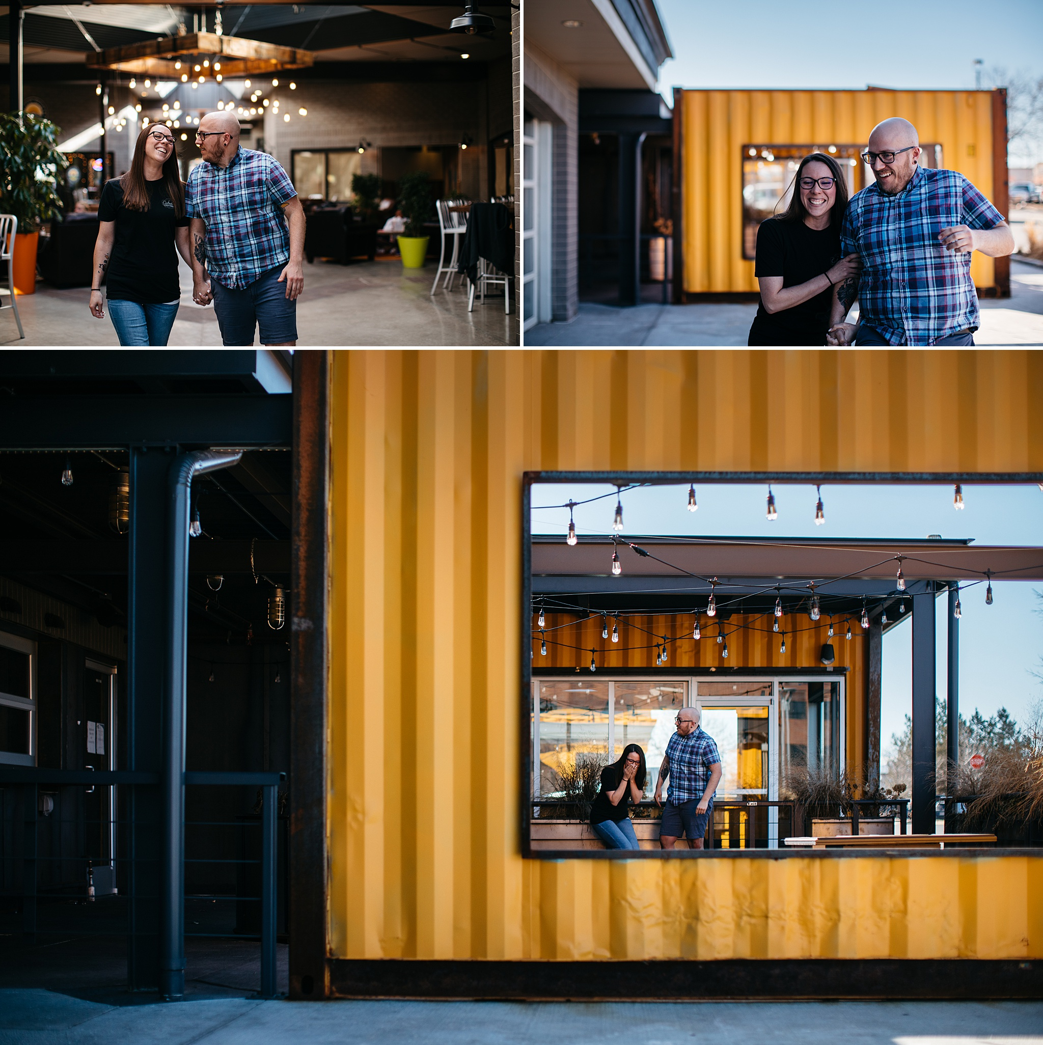 Denver Coffee Shop Engagement Session