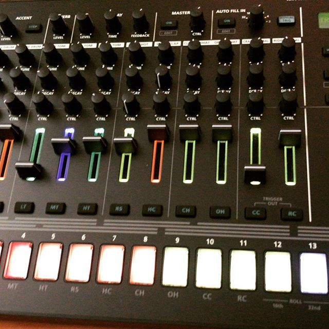 New live tools.. . . . . . . #techno #musicproducer #musicproduction #dj #live #recordlabel #cortexrecordings @rolandaira #tr8s #newgear #gearacquisitionsyndrome