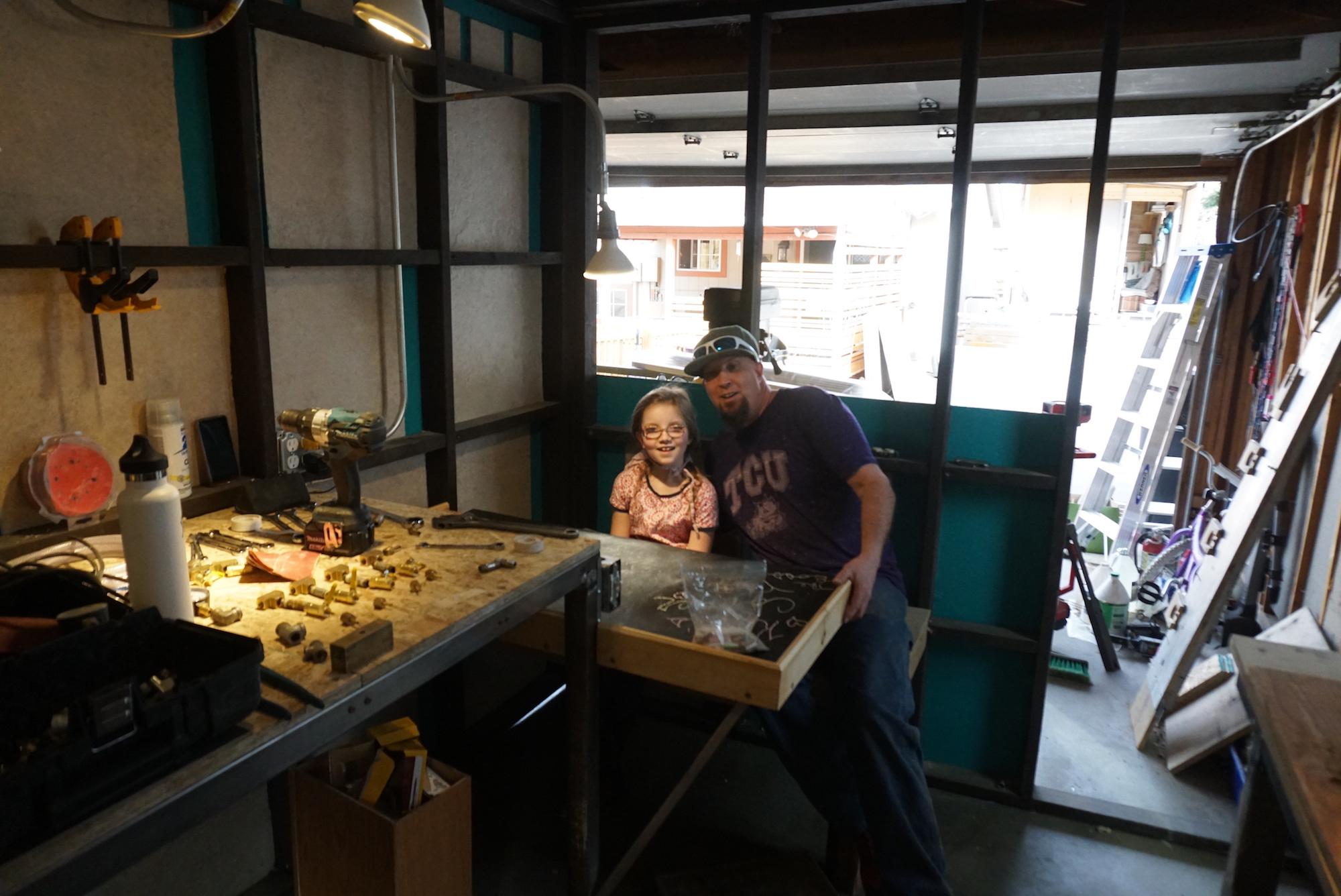 Kyla's desk