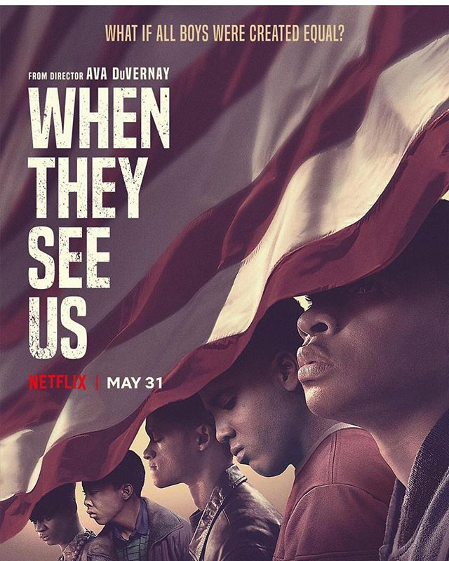 We are bracing ourselves for this. WHEN THEY SEE US coming to @netflix May 31st. Thank you, @ava. You love us, and it shows. 🙏🏾✨✨✨