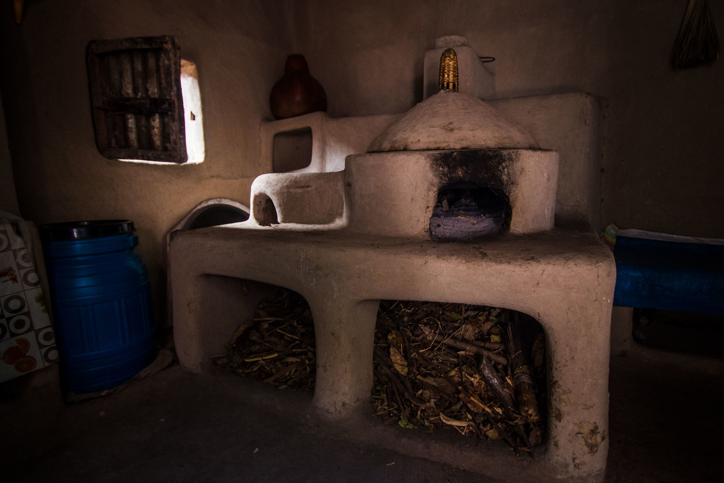 An innovative smokeless stove designed by the guru himself, for cooking injera (a sourdough-risen, spongy flatbread made out of teff flour) .