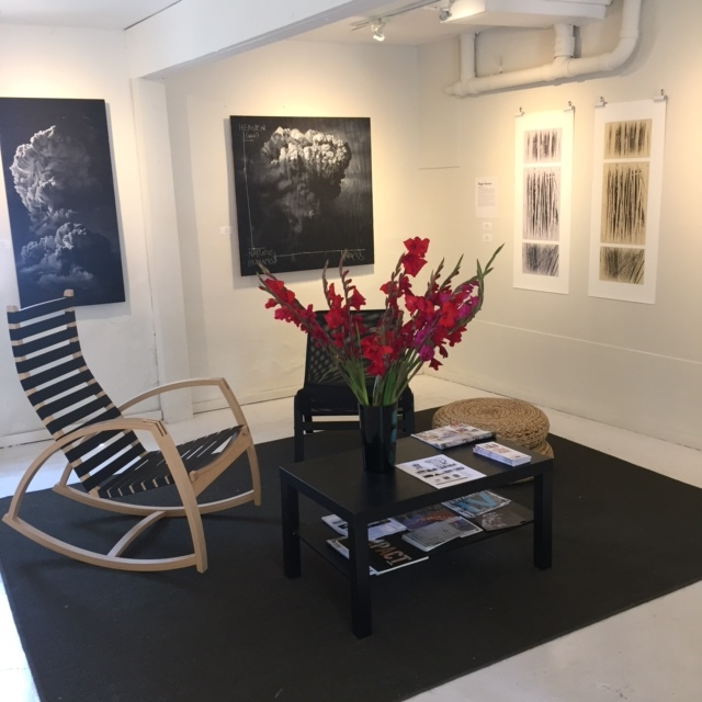 The gallery, looking bright and fresh!