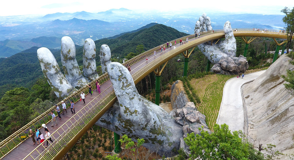 """The """"Golden Bridge"""" is creating quite a buzz…  click here   to find out more."""