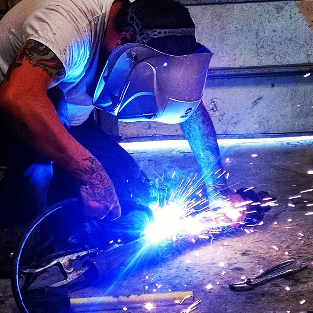 Link  #welding #build #thankschess #burningman #burningman2018 #eight #timetravel