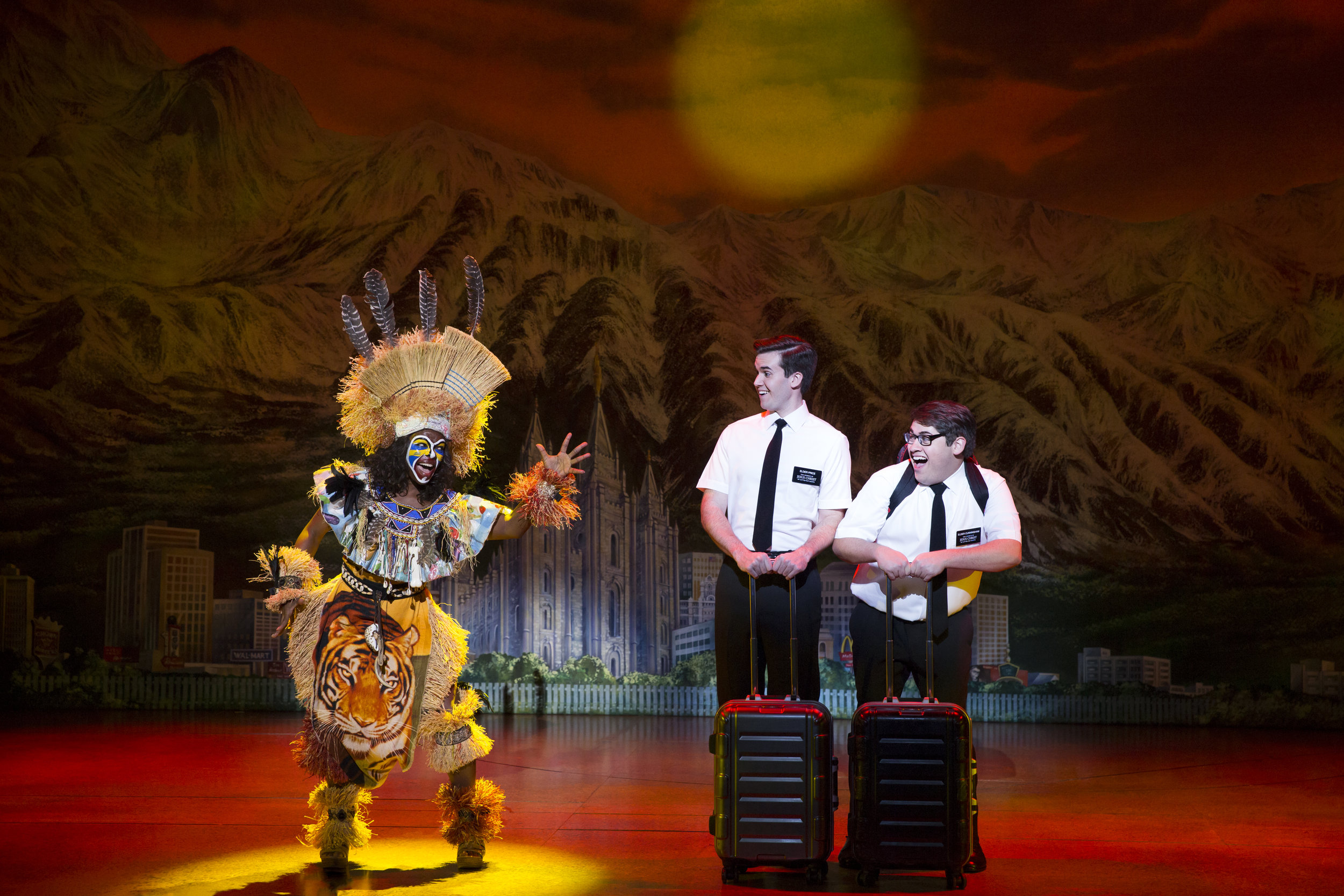 Monica L. Patton, Kevin Clay, Conner Peirson - The Book of Mormon (c) Julieta Cervantes 2017.jpg